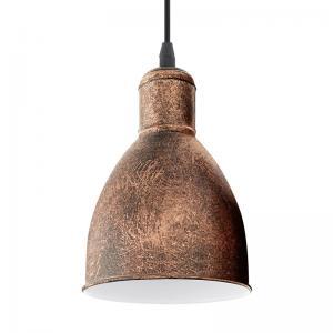 Hanglamp Priddy koper