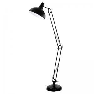 Vloerlamp Borgillio zwart