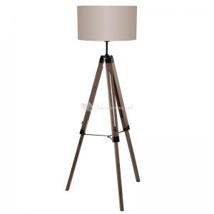 Vloerlamp Lantada taupe