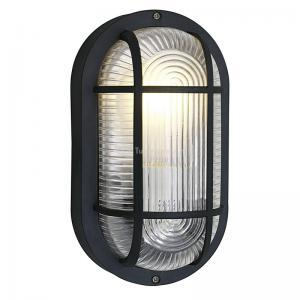 Anola zwart wand- en plafondlamp