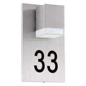 Pardela 1 Led wandlamp met huisnummer