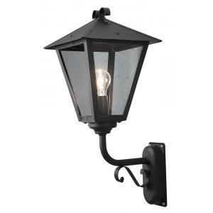 Wandlamp Benu zwart opwaarts