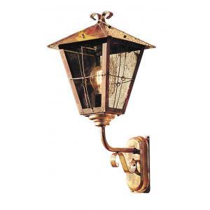 Wandlamp Fenix met rookkleurig glas opwaarts