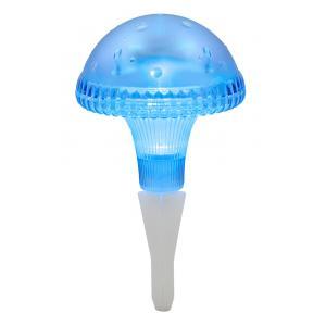 Led solarlamp assisi paddestoel blauw