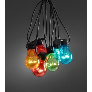 LED feestverlichting koppelbaar uitbreidingsset multicolor