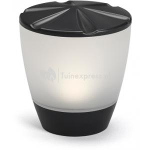 Turner matzwart tafel solar tuinverlichting